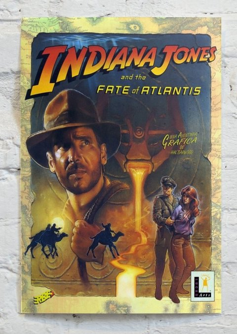Cuadro Indiana Jones and the Fate of Atlantis