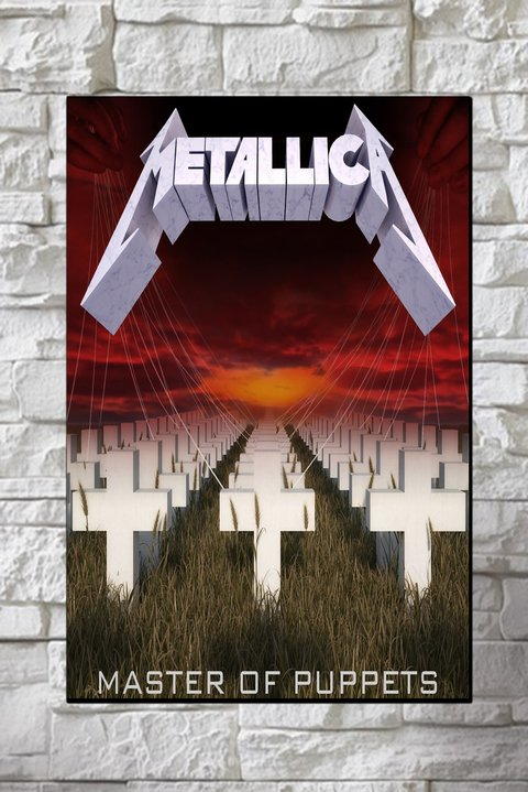 Cuadros - Metallica Master of Puppets - comprar online