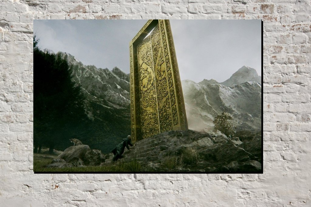 Cuadro Puertas Del Valhalla Comprar En Deco Delorean