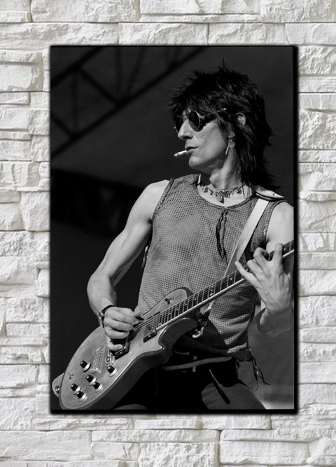 Cuadro The Rolling Stones Ron Wood - comprar online