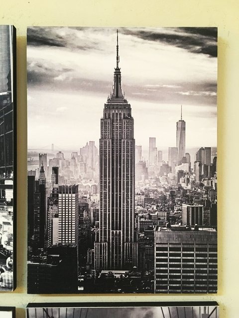 Cuadro New York Empire State - comprar online