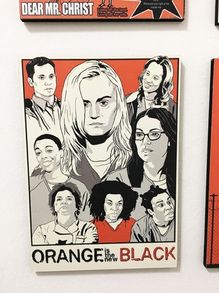Imagen de Combo 4 cuadros Orange is the New Black