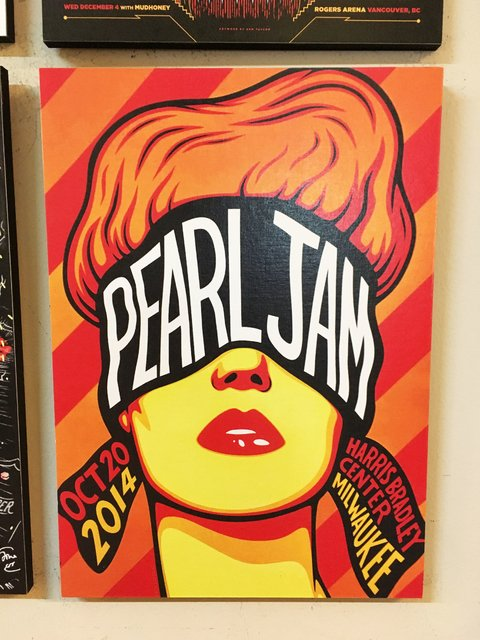 Combo 4 cuadros Pearl Jam - comprar online