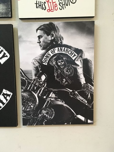 Combo 4 cuadros Sons of Anarchy