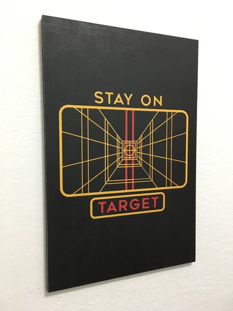 Cuadro Star Wars Stay on Target - comprar online