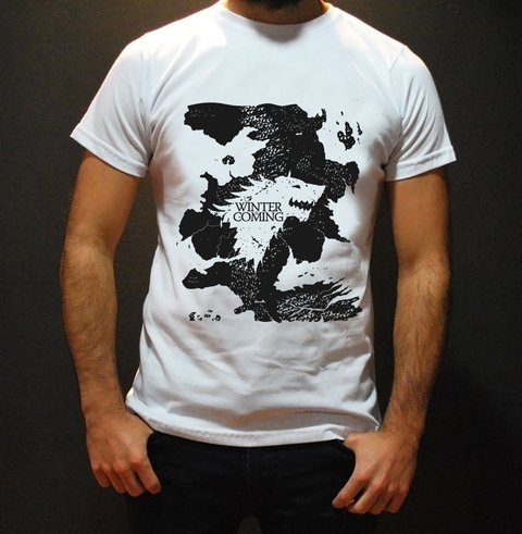 Remera Game of Thrones Winter is Coming