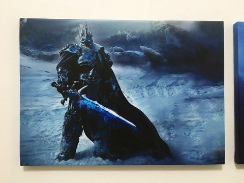 Cuadro World of Warcraft Arthas - comprar online