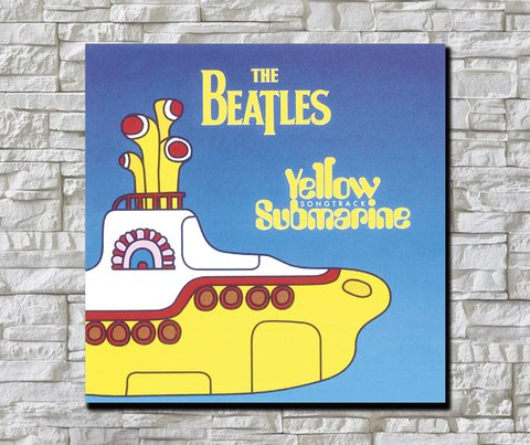 Cuadro The Beatles Yellow Submarine 2 - comprar online