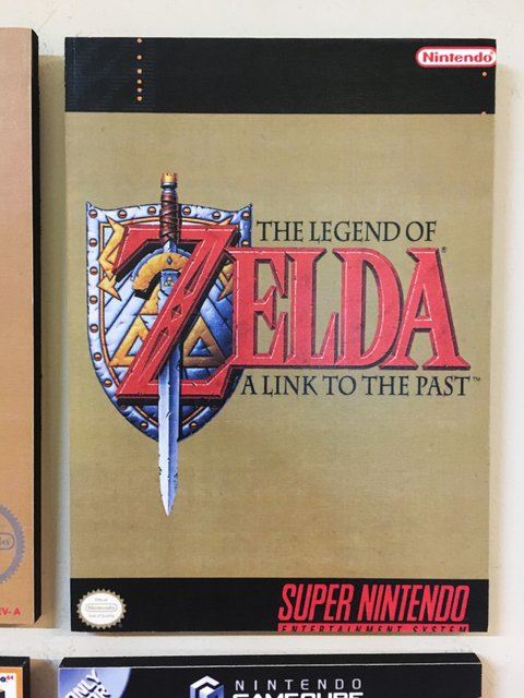 Cuadro The Legend of Zelda: A Link to the Past - comprar online