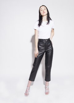 vegan leather pants - comprar online