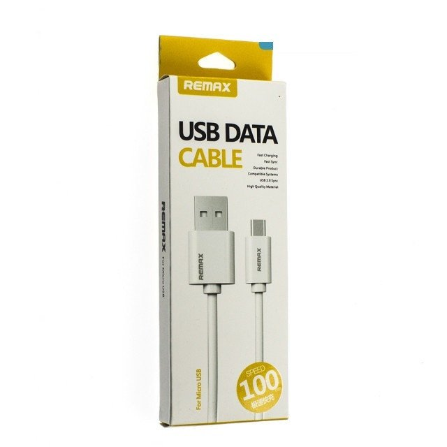 Cable Micro Usb Remax Rc-007m Blanco - comprar online