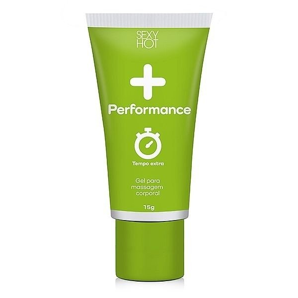 + Performance - Gel Masculino para Massagem - Sexy Hot