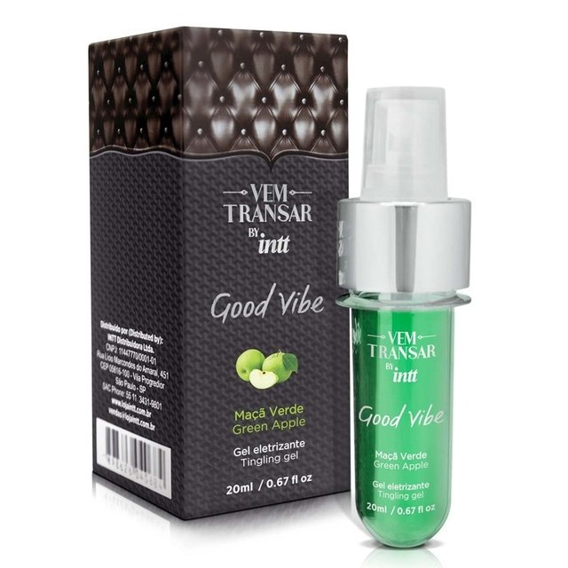Gel com Vibração - GOOD VIBE 20ml - INTT