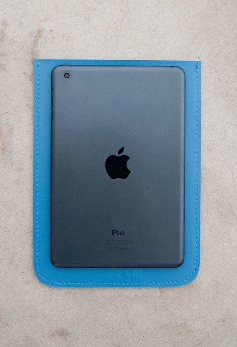 Capa Ipad Mini • Azul Claro •