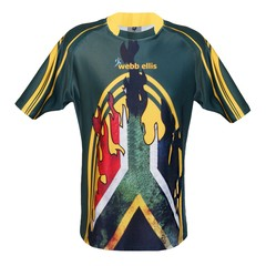 Camiseta Rugby South Africa