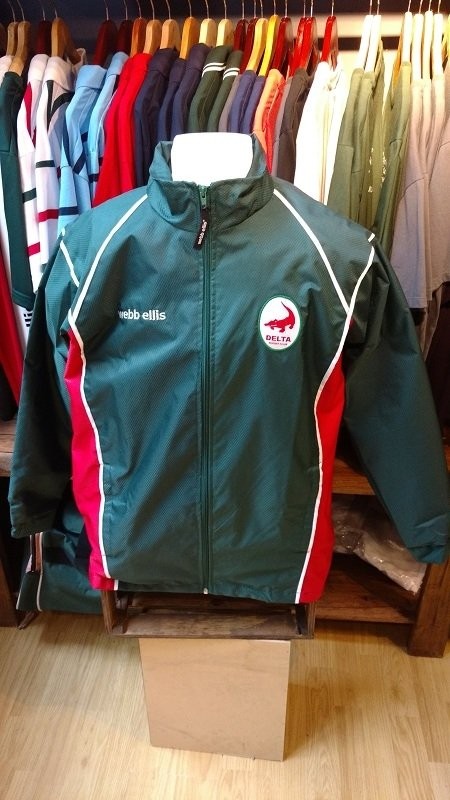 Campera Impermeable Delta Rugby Club