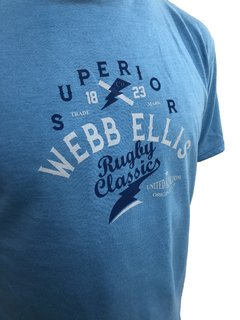 Remera Algodon Jaspeado SUPERIOR - Webb Ellis Shop