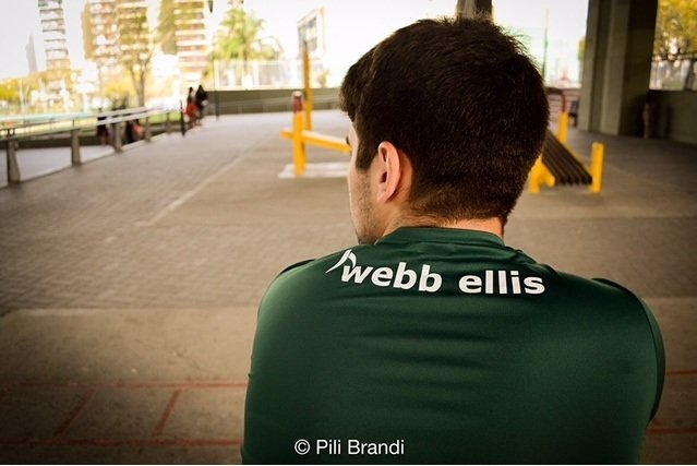 Remera Dry Fit Verde 2018 - Webb Ellis Shop