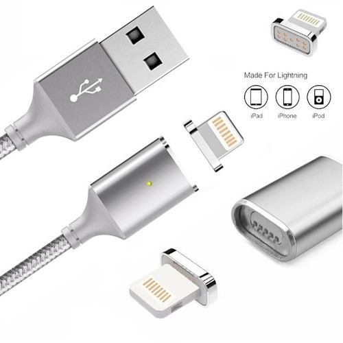 Cable Lightning Magnetico Carga Iphone 6 7 8 Plus X Xs Max