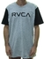 Camiseta RVCA Big Bi Color - Cinza/Preto