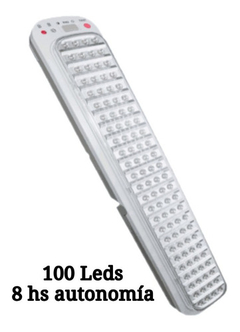 Luz Emergencia 100 Leds Light Tronic 8hs Xl-100leds