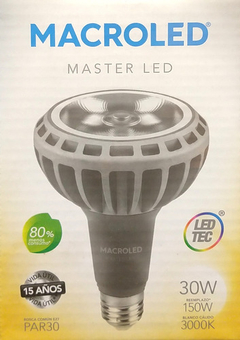 Lámpara Led Par 30 Macroled 30w Calida 3000k - comprar online