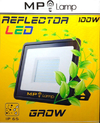 Artef. Proyector Reflector Grow Led 100w Cultivo Indoor