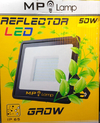 Artefacto Proyector Reflector Grow Led 50w Indoor Cultivo Mp