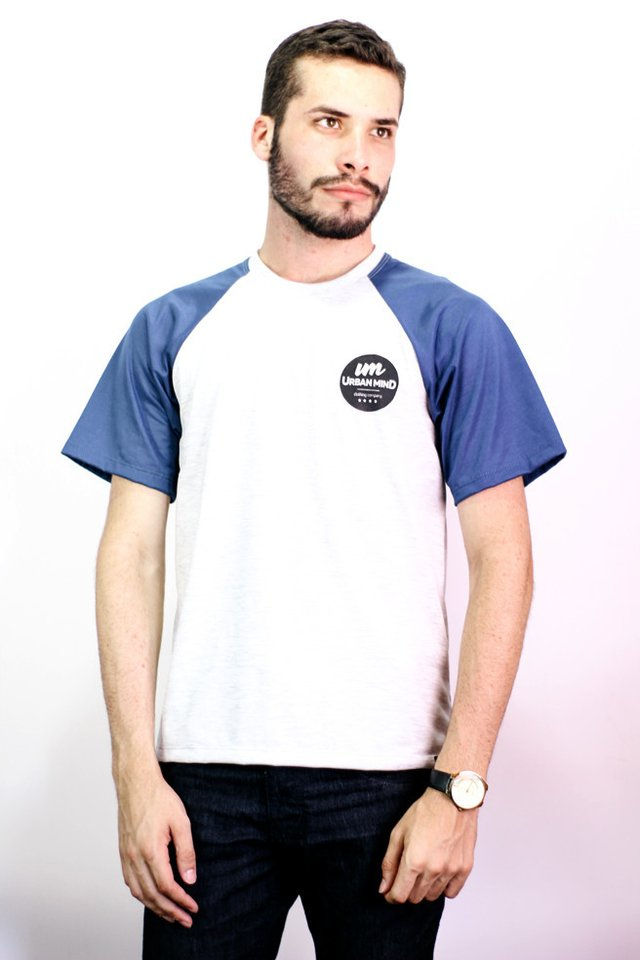 Imagem do Camiseta Raglan Urban Mind - Urban Zero