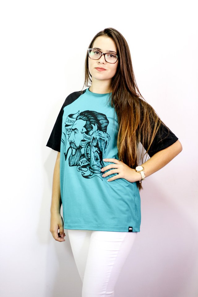 Camiseta Raglan - Sailor And The Smoking Pipe - 2nd Edition - Urban Zero na internet