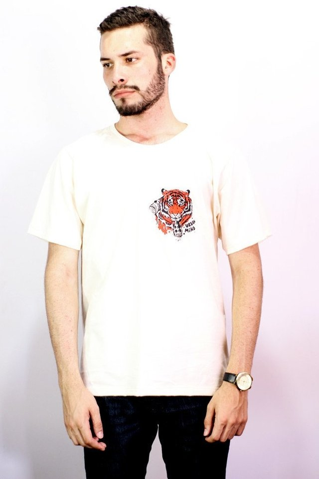 Camiseta Tiger Pizza - Urban Zero