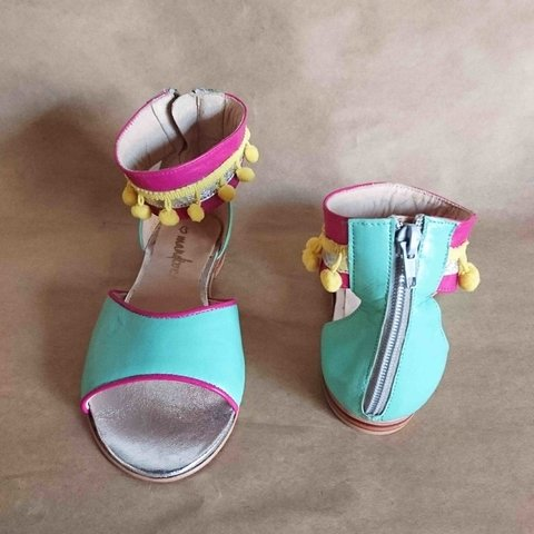 Dolly Aqua - Mandioca Shoes