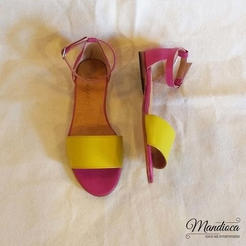 Shana Fucsia - Amarillo - Mandioca Shoes