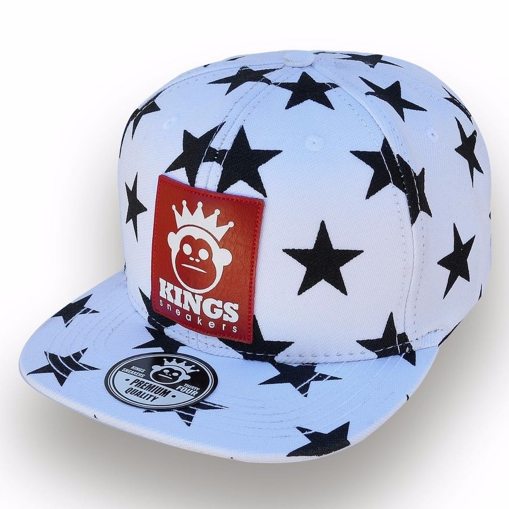 aa80896ca94da Boné Aba Reta Snapback Kings - Branco