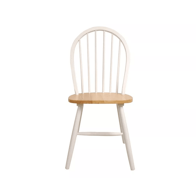 Silla Windsor Blanca con asiento Natural en internet