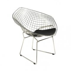 Sillon Diamond Bertoia Negro x2