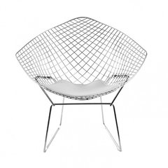 Sillon Diamond Bertoia Blanco x2