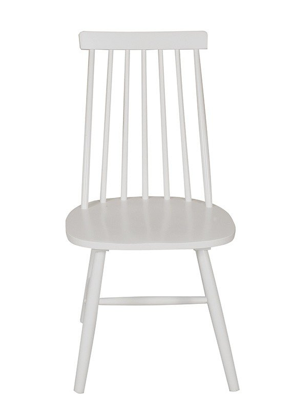 Silla Windsor Recta Blanca