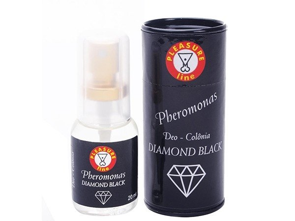 Diamond Black - Pheromonas Deo-Colônia Masc. - 20 ml