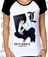 CAMISA BABYLOOK DEATH NOTE