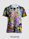 Camisa Dragon Ball Super Estampa Total Frente e Costas - comprar online