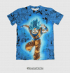 Camisa Exclusiva Goku Super Saiyajin Blue Mangá