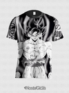 CAMISA FULL ESTAMPA GOKU DRAGON BALL SUPER