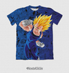 Camisa Exclusiva Majin Vegeta Super Saiyajin Mangá