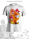 Camisa Infantil Goku SSJ God Dragon Ball Super