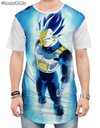 Camisa Swag Vegeta Super Saiyajin Blue