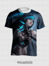 CAMISA ESTAMPA TOTAL EVELYNN SOMBRIA LEAGUE OF LEGENDS - comprar online