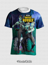 Camisa Fortnite Battle Royale Estampa Total Frente MOD.8 - comprar online