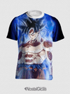 CAMISA GOKU INSTINTO SUPERIOR ESTAMPA TOTAL FRENTE