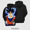 Moletom Goku Instinto Superior Dragon Ball Super Estampa Total Frente - comprar online